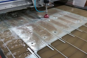 Waterjet- Cut Metal / Fiberglass